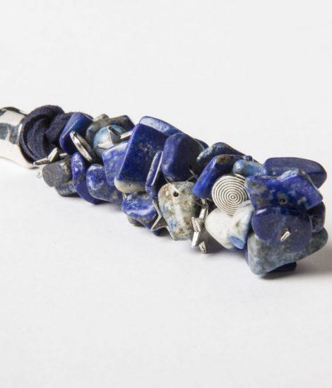 Collar Cristina Lapis lazuli.Egass barcelona hecho a mano.