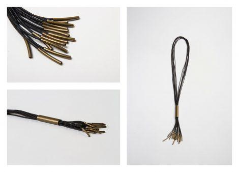 hecho a mano egass barcelona zamak doraco con algodón negro